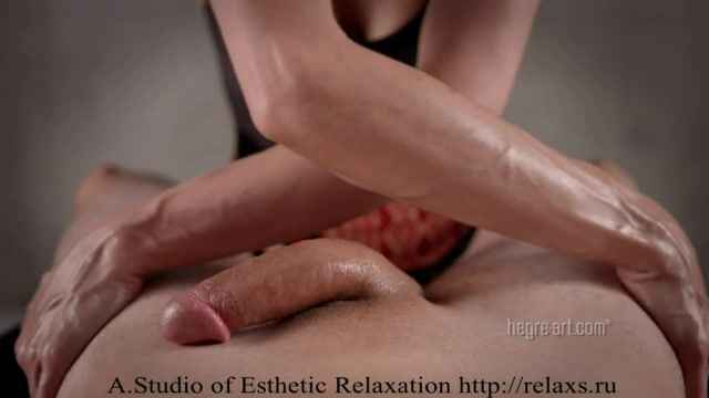 Порно ролик Oily Lingam Massage Массаж Лингама Sexy Erotic Intim Massage